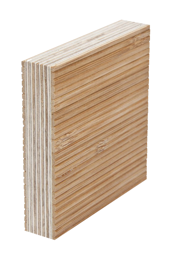 Moso Bamboo Tambour Faced Panel On Eco Core White Birch